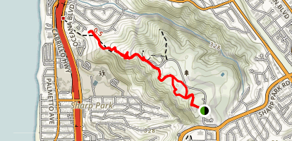 Milagra Overlook Trail Map