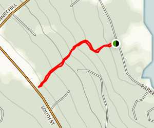 Trail to South Street [PRIVATE PROPERTY] Map