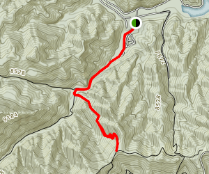 South Fork to the Peacock Trail Map