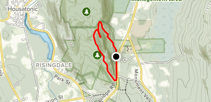Hickey, Squaw, Indian Loop Map