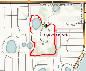 Shadow Bay Park Loop Map