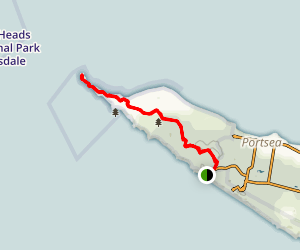 Point Nepean via Butlers Track Map