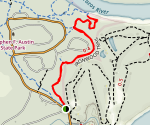 Ironwood Trail to Barred Owl trail Map