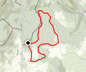 Red Apple Trail Map