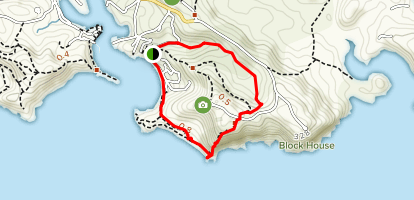 Jones Valley Trail to Carpenter's Trail Loop Map