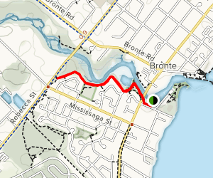 Bronte Creek Map