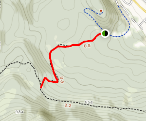 Gastineau Meadows To Treadwell Ditch Tral Map