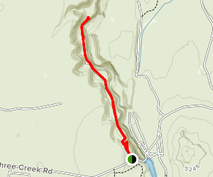 Salmon Falls Creek Gorge Map