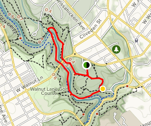 Blue Bell and Forbidden Drive Loop Map