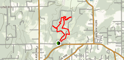 360 Project Horse and Pedestrian Loop Map