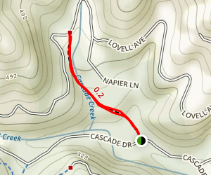 Cascade Park Trail Map
