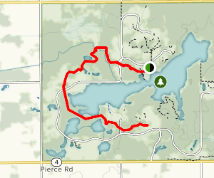 Potato Creek Bike Trail Map