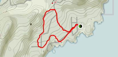 Richardson's Cove Loop [PRIVATE PROPERTY] Map