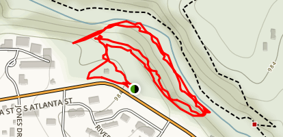 Don White Memorial Park Southern Loop Map