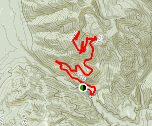 Morrell Fire Lookout Map
