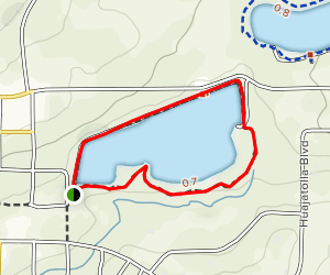 Wahatoya Lake Trail Map