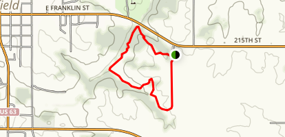 McGowen Recreation Trail Map