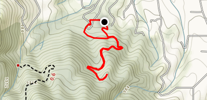 Lookout Trail and Nature Trail Loop Map