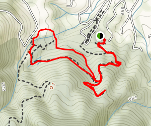 Lookout, Redwood, Orchard, Creek Trails Map