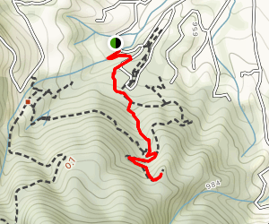 Redwood Trail to Lookout Point Map