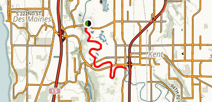 Green River Trail Map
