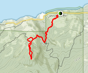 Coyote Peak Map