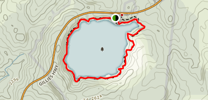 Lake Circuit Track Map