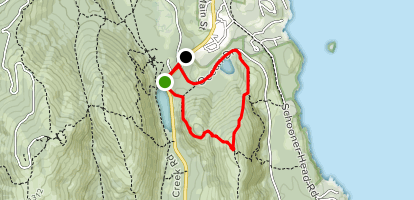 Champlain Mountain via Beachcroft Path and Champlain North Ridge Trail Loop Map