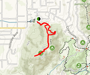 Norco Mountain via Powerline Road Map