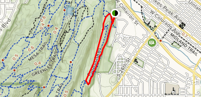 Hogback Valley and Codell Loop Map
