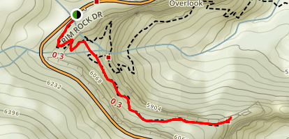 Coke Ovens Trail Map