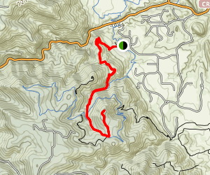 Meadowlark Trail to Plymouth Mountain Map
