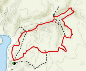 Horse Thief Trail Map