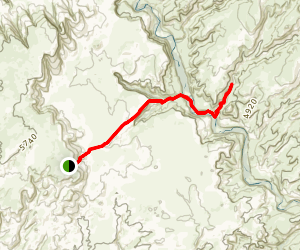 The Golden Cathedral Trail Map