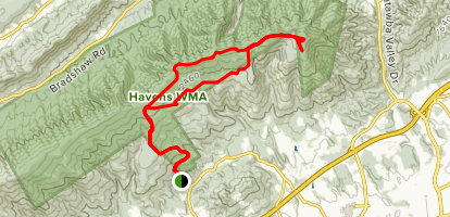 Fort Lewis Mountain Loop Map