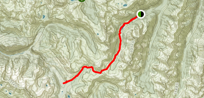West Maroon Trail Map