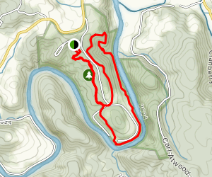New River State Park Loop Map
