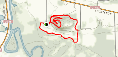 Mosquito Hill Loop Map
