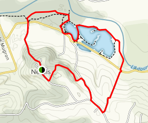 Haute Chalosse Trail Loop Map
