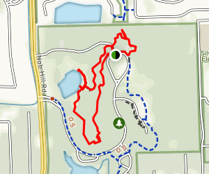 Tree Top Loop Map