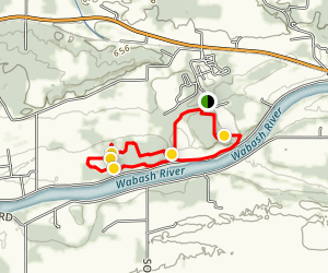 Spring Redbud Loop Map