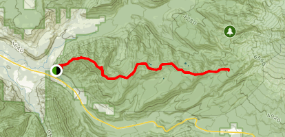 Zigzag Mountain Trail  Map