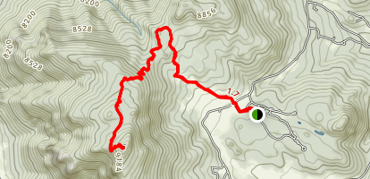 Kruger Rock Trail Map