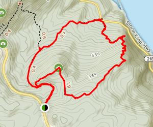 North Point Summit Trail Map