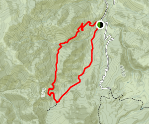 Box Elder Creek Trail Map