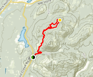 Plummer and Beaver Pond Trail Map