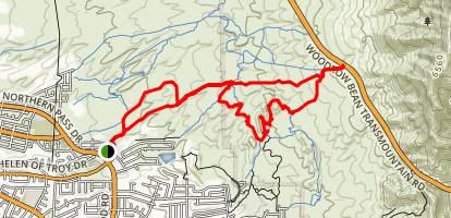 Lost Dog Trail Loop Map