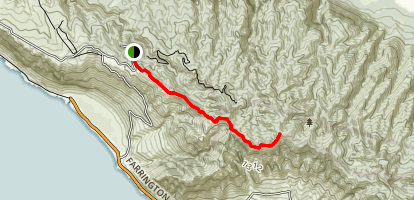 Kuaokala Trail Map