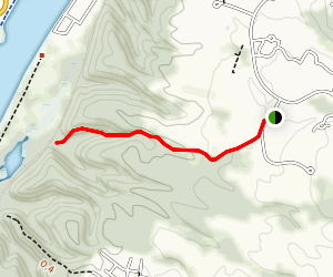 Southern Waterfall Spur Trail Map