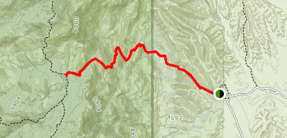 Miller Creek Trail Map